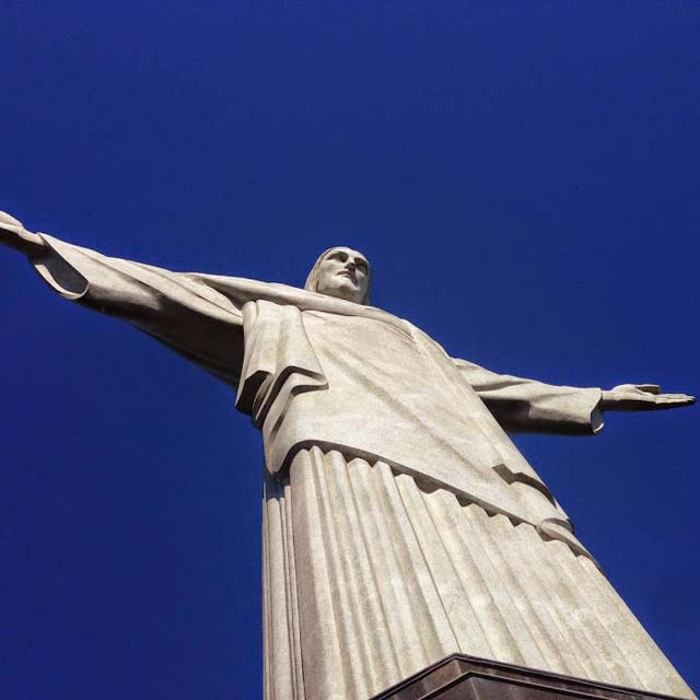 Christ Redeemer and Corcovado Mountain