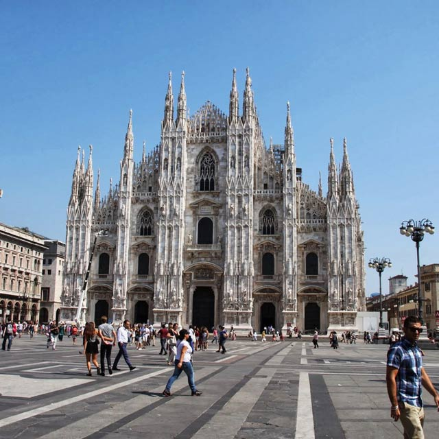 Milan Cathedral dedicated to St Mary of the Nativity