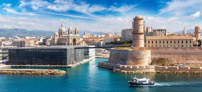 the city of marseille, harbour