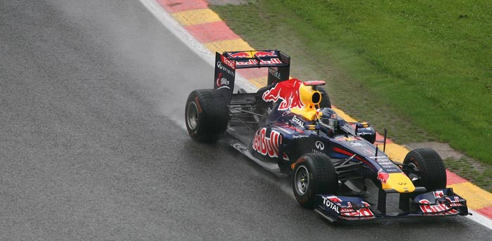 red bull formula racing car